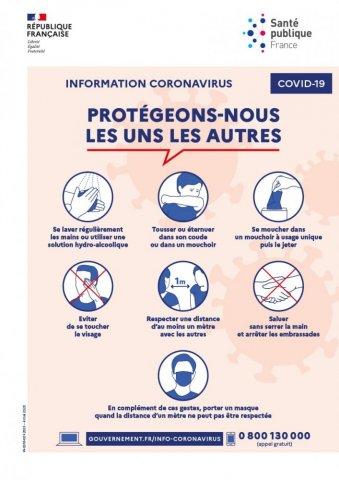 gestes barrieres coronavirus - Mel&Yo Santé Vente et location de matériel médical à Romans-sur-isère