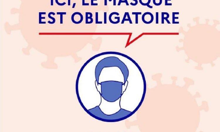 masque obligatoire gestes barrieres coronavirus - Mel&Yo Santé Vente et location de matériel médical à Romans-sur-isère
