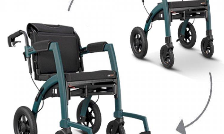 mobio rollator et fauteuil roulant